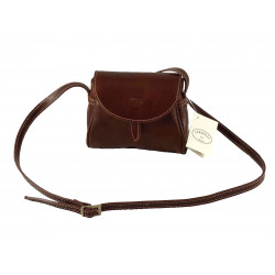 Leder Damentasche - 525