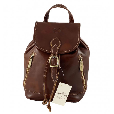 Leather Backpack - 532