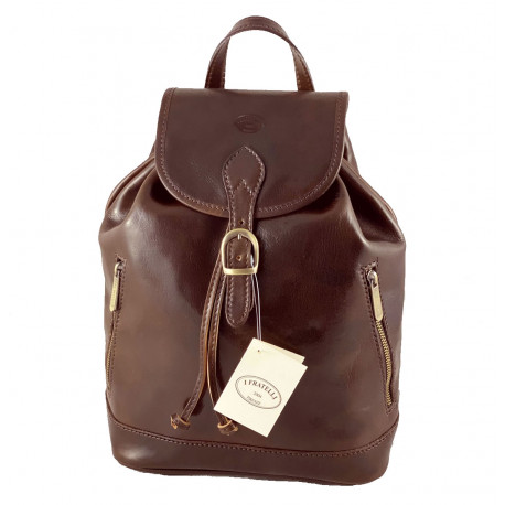 Leather Backpack - 533