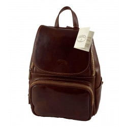Leather Backpack - 534
