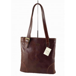 Leder Damentasche - 536