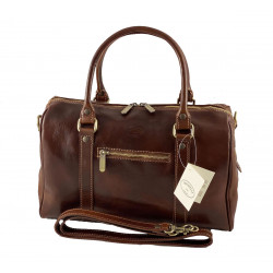 Leder Damentasche - 538