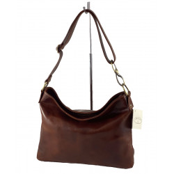 Leder Damentasche - 540