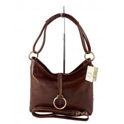Leder Damentasche - 541