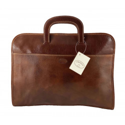 Leather Briefcase - 549