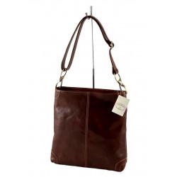 Leder Damentasche - 553