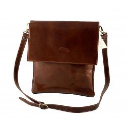 Leder Herrentasche - 555