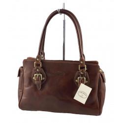Leder Damentasche - 557