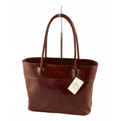 Leder Damentasche - 562