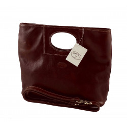 Leather Women's Bag - 563