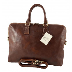 Leather Briefcase - 565
