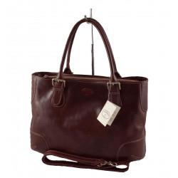 Leder Damentasche - 566