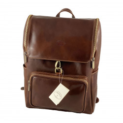 Leather Backpack - 568