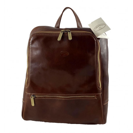 Leather Backpack - 569
