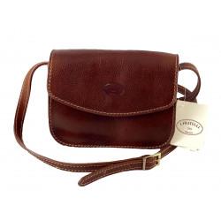 Leder Damentasche - 511
