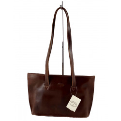 Leder Damentasche - 571