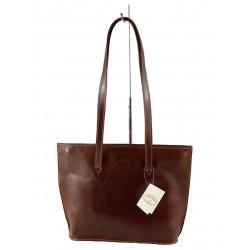 Leder Damentasche - 572