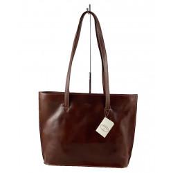 Leder Damentasche - 573