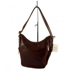 Leder Damentasche - 577