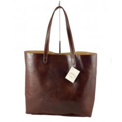 Leder Damentasche - 591