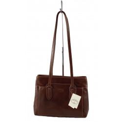 Leder Damentasche - 520