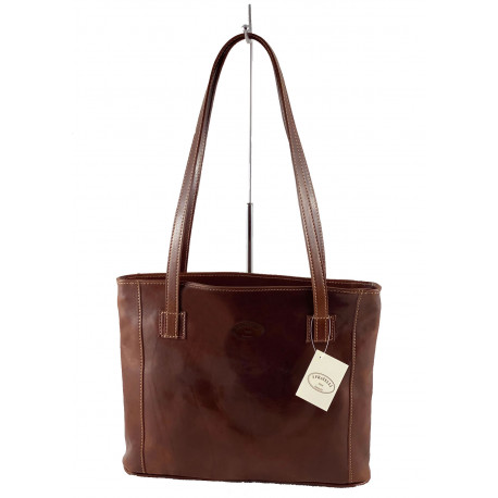 Leather Women's Bag - 522