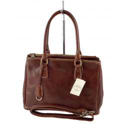 Leather Women's Bag - 524