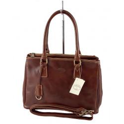 Leder Damentasche - 524