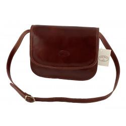 Leder Damentasche - 513