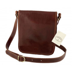 Leather Men's Bag - 552