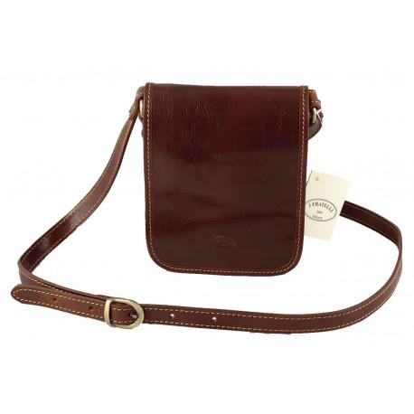 Leather Men's Bag - 554