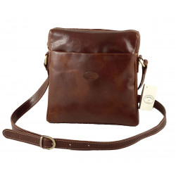 Leather Men's Bag - 519